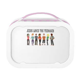 JESUS LOVES THE TEENAGER LUNCH BOX