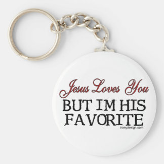 Jesus Loves You Favorite Key Ring