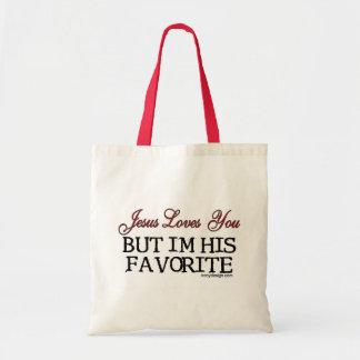 Jesus Loves You Favorite Tote Bag