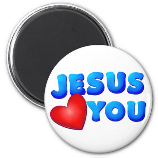Jesus Loves You Magnet