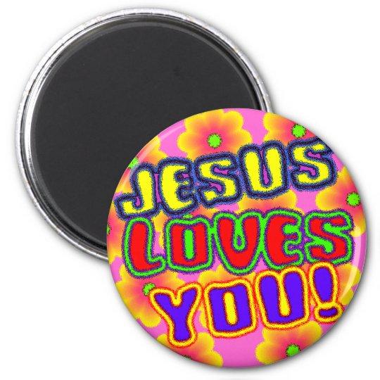 Jesus Loves You!  Magnet