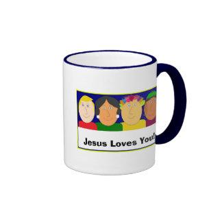 Jesus Loves You! Mug