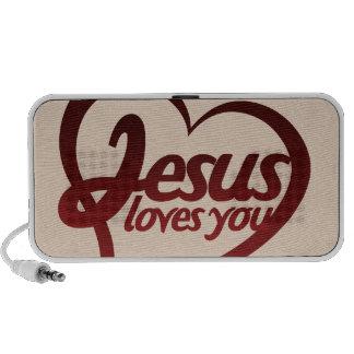 Jesus Loves you Speaker System