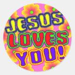 Jesus Loves You! Sticker