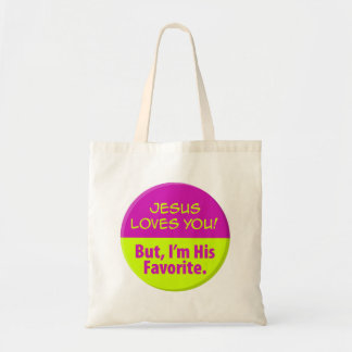Jesus Loves You! Tote Bag