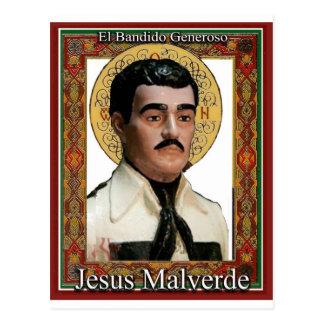 Jesus Malverde , The Generous Bandit Postcard