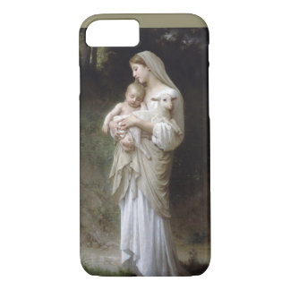 Jesus, Mary and the lamb BY EKLEKTIX iPhone 8/7 Case
