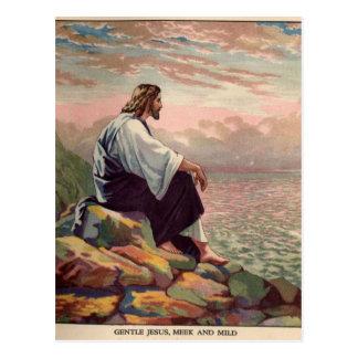 Jesus Meek and Mild Postcard