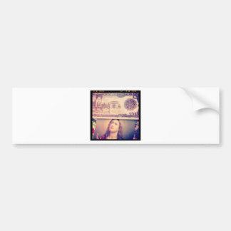 Jesus money bumper sticker