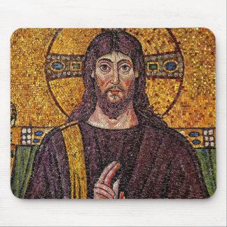 Jesus Mosaic Mouse Pad