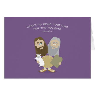 Jesus & Moses card
