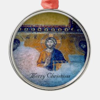 jesus mural chrsitmas christmas ornament