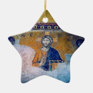 jesus mural star ceramic star decoration
