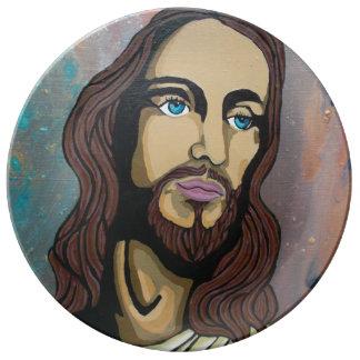 Jesus My King Porcelain Plate