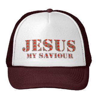 JESUS my Saviour : CHRIST Christians Religion HOPE Hat