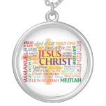 JESUS NAME ABOVE ALL NAMES PENDANTS