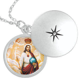Jesus Neckless Locket Necklace
