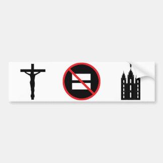 Jesus not LDS Bumper Sticker
