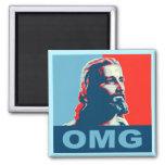 Jesus OMG Magnet
