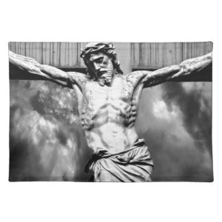 Jesus on a Cross Placemats