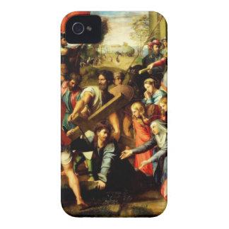 Jesus on his way to Calvary iPhone 4 Case