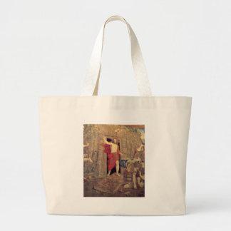 Jesus on Resurrection Tapestry in the Vatican Bag