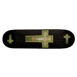 Jesus on the Cross Art Skateboard - Complete