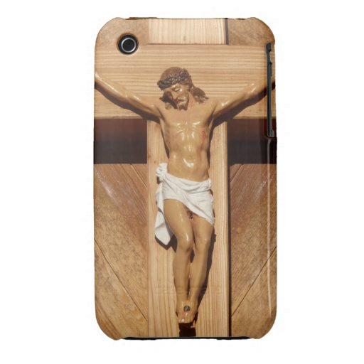 Jesus on the Cross iPhone 3 Cover