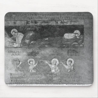 Jesus on the Mount of Olives Mouse Pad
