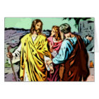 Jesus on the Road to Emmaus Card