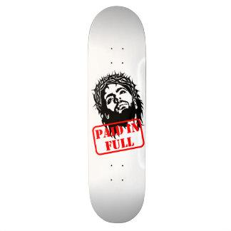Jesus Paid in Full Board Skateboard Decks