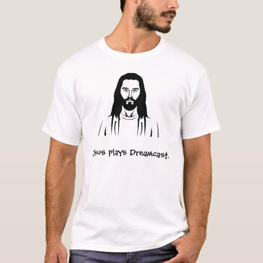Jesus plays Dreamcast. T-Shirt