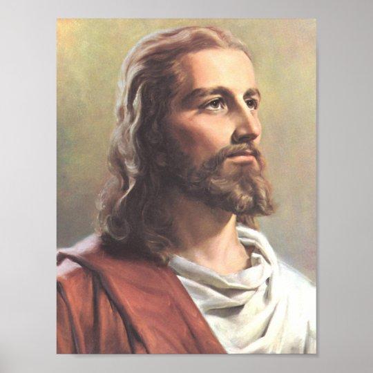 Jesus Portrait Poster