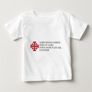 Jesus Prayer with Jerusalem Cross Tshirts