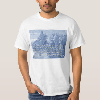 Jesus Preaching at the Sea of Galilee-Gustave Dore T-Shirt