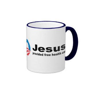 Jesus provided free healthcare mugs