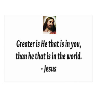 Jesus Quotes Postcard