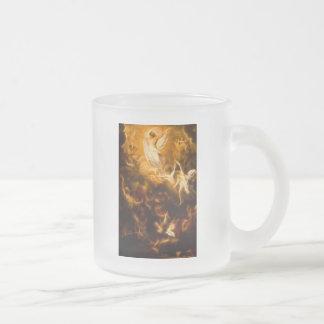 Jesus Resurrection Frosted Glass Mug
