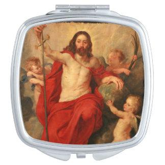 Jesus Resurrection of Sin and Death Compact Mirror