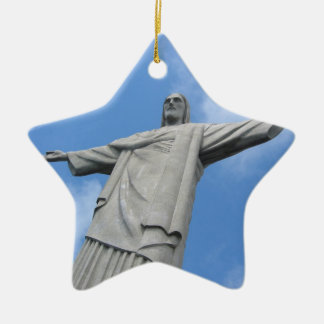 jesus rio christmas ornament
