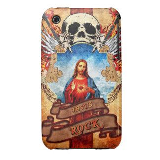 Jesus rock iPhone 3 Case-Mate case
