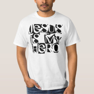 Jesus s my hero t-shirt