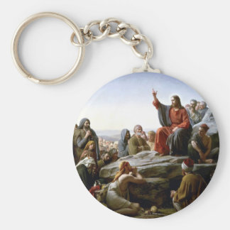 Jesus 's Sermon-on-The-Mount-by-Bloch Key Ring