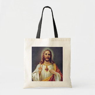 Jesus Sacred Heart Peace Sign Portrait