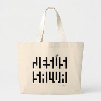 Jesus Salva logo Jumbo Tote Bag