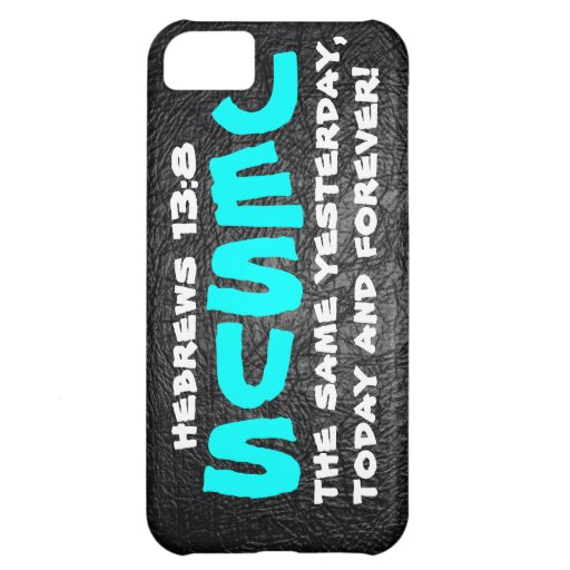 Jesus same yesterday, today and forever iPhone 5C cover