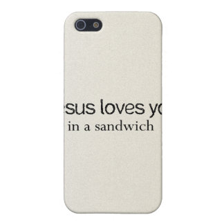 Jesus Sandwich Covers For iPhone 5