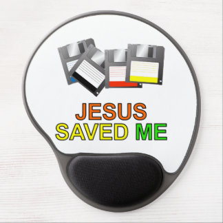 Jesus Saved Me (Floppy Disk) Gel Mouse Pad