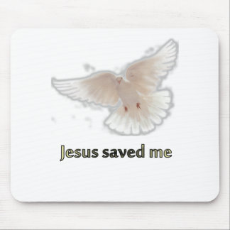 Jesus Saved Me Mouse Pad