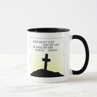 Jesus Saved my Life Mug